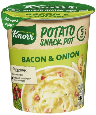 Knorr Potato Bacon & Løk Smårett i Kopp, 51 g