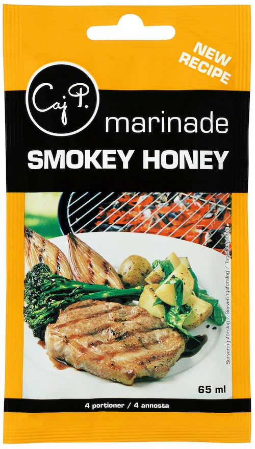 Caj P Marinade Smokey Honey 65 ml