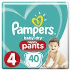 Pampers Bleie Baby Dry Pants