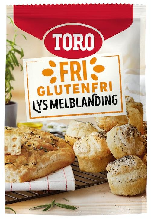 Toro Glutenfri Melblanding Lys, 262 g
