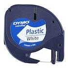 Tekstbånd til Dymo i plast