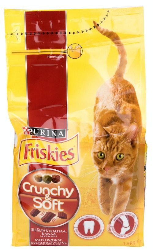 Friskies Crunchy & Soft 1,5 kg