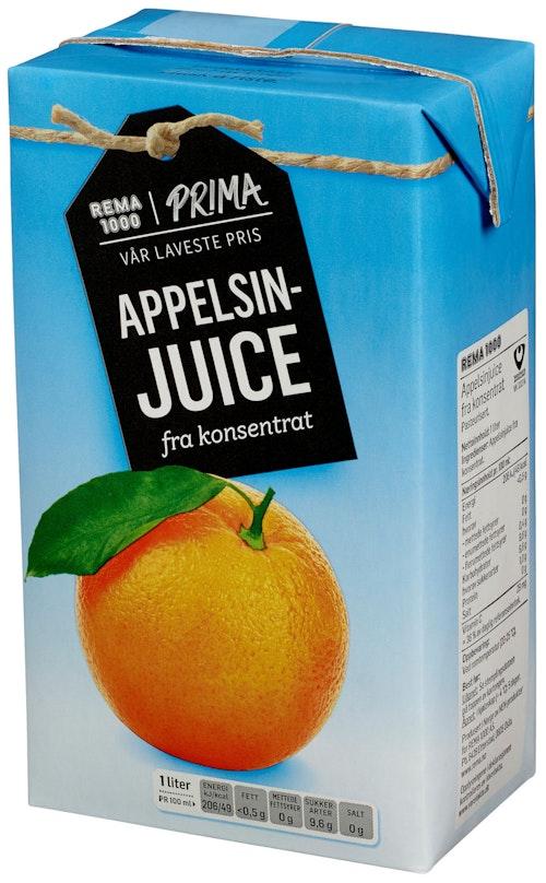 REMA 1000 Appelsinjuice 1 l