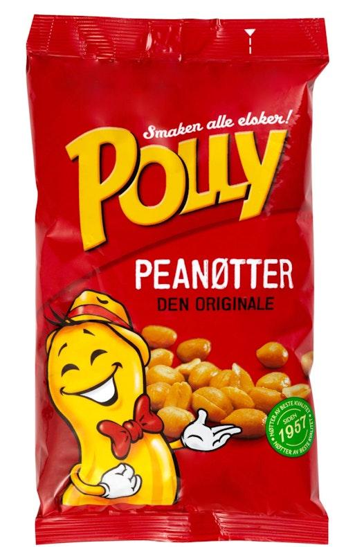 Polly Polly Peanøtter 880 g