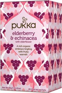 Pukka Elderberry & Echinacea Tea 20 stk