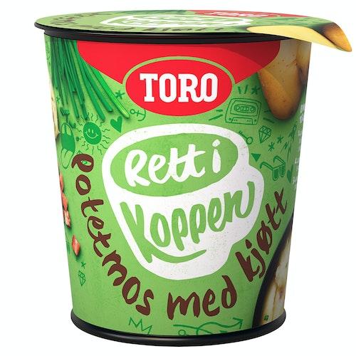 Toro Potet Med Kjøtt Rett i Koppen, 50 g