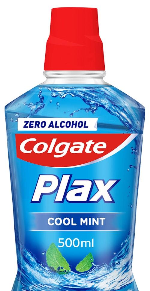 Colgate Munnskyll Plax Blå Cool Mint, 0,5 l
