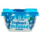 Yoghurt Mousse Blåbær