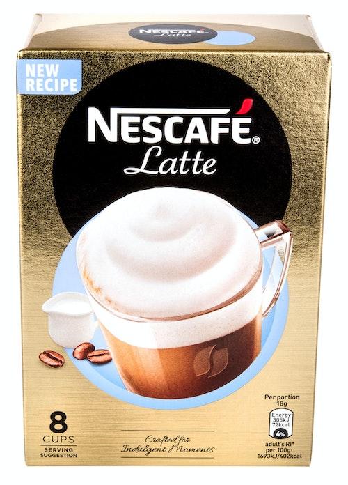 Nescafé Nescafé Latte Macchiato 8 stk, 144 g