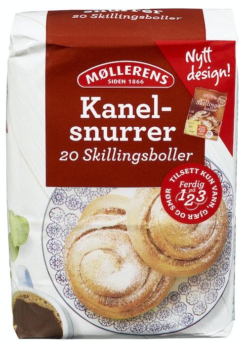 Møllerens Kanelsnurrer 1 kg
