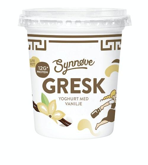 Synnøve Gresk Yoghurt Vanilje 350 g