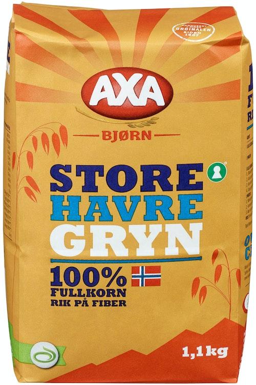 AXA Bjørn Havregryn Store 1,1 kg