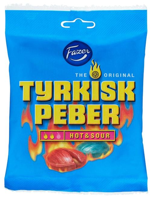 Fazer Tyrkisk Peber Hot & Sour 120 g