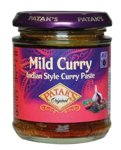 Patak's Mild Curry Paste 165 g