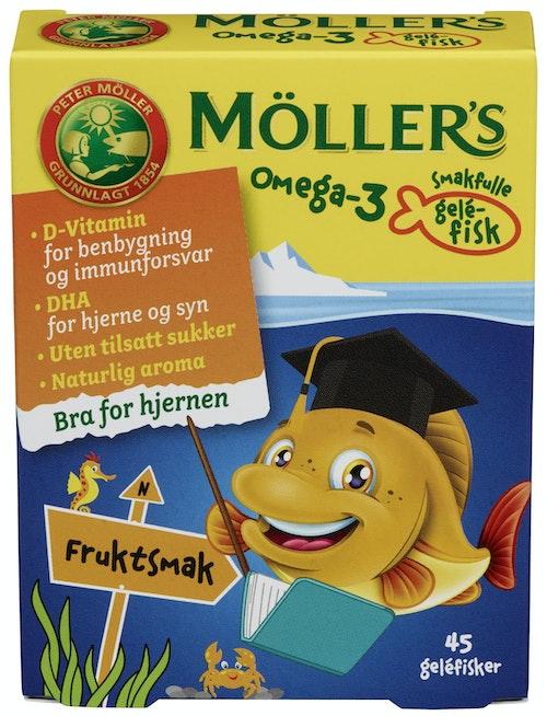 Möller's Omega-3 Fisk 45 stk