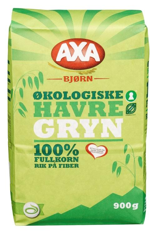 AXA Havregryn Økologisk 900 g