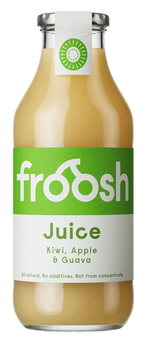 Froosh Eple, Kiwi og Hvit Guava Juice, 750 ml