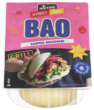 Hatting Bao Hamburgerbrød 160 g