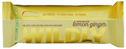 Maxim Wildly Lemon Ginger Proteinbar, 55 g