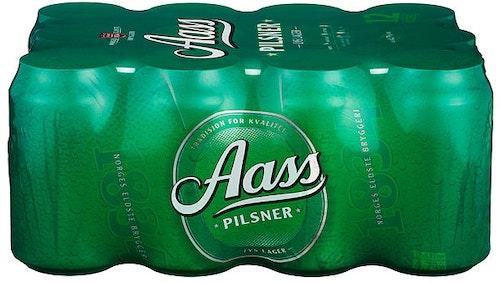 Aass Bryggeri Aass Pilsner 12 x 0,33l, 3,96 l
