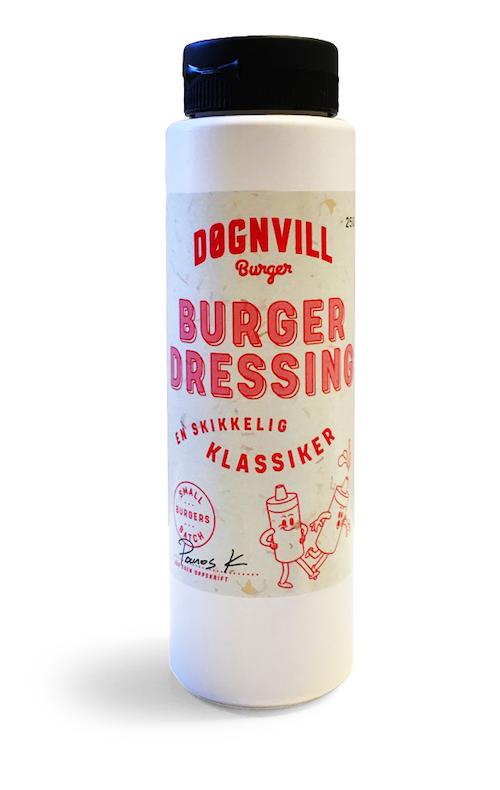 Døgnvill Burgerdressing 250 ml