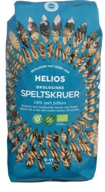 Helios Speltskruer Fullkorn Økologisk, 500 g