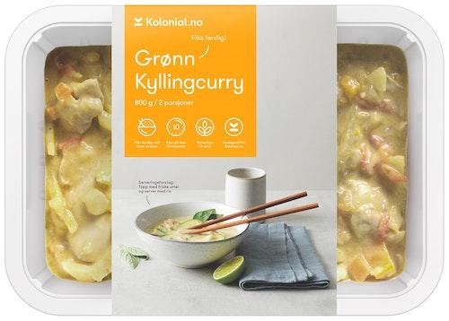 Gastro Kitchen Kylling GrønnCurry Fiks ferdig, 2 Porsjoner, 800 g