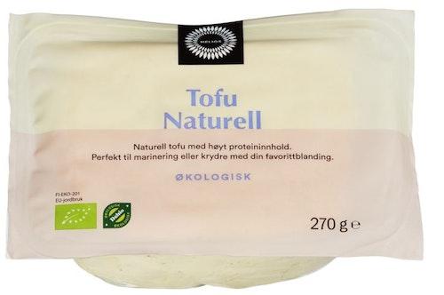 Helios Tofu Naturell Økologisk, 270 g