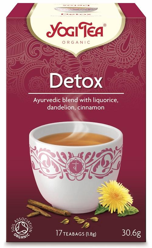 Yogi Yogi Tea Detox Økologisk, 17 stk