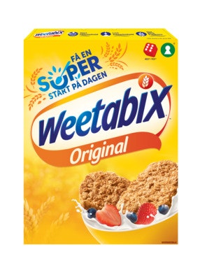 Weetabix Weetabix Orginal 95% Fullkorn, 430 g