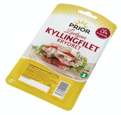 Prior Kyllingfilet Løvtynn Krydret, 110 g