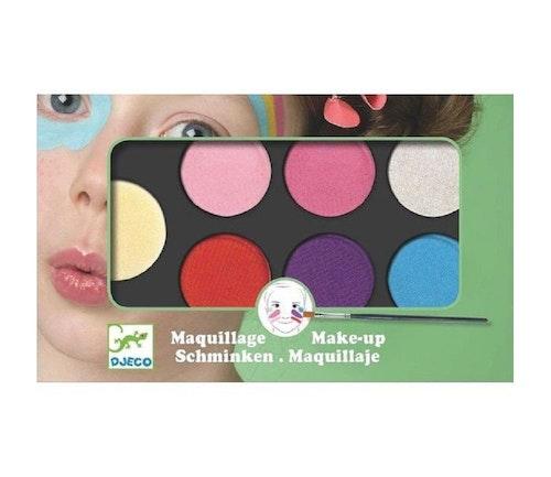 Djeco Ansiktsmaling med 6 farger i pastell 1 stk