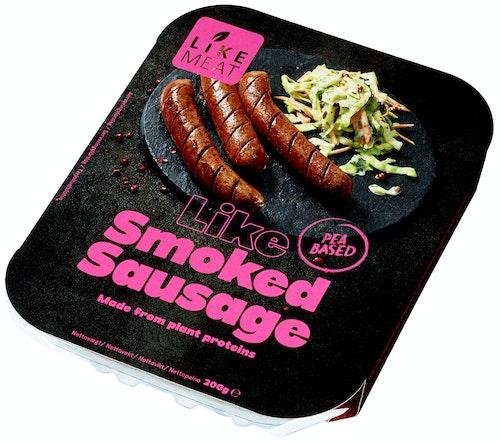 Likemeat Smoked Sausage Plantebasert, 200 g