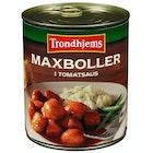 Maxboller i Tomatsaus