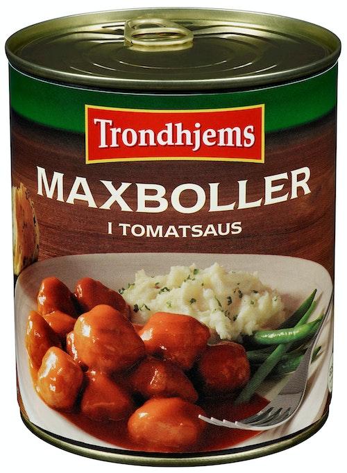 Trondhjems Maxboller i Tomatsaus 420 g