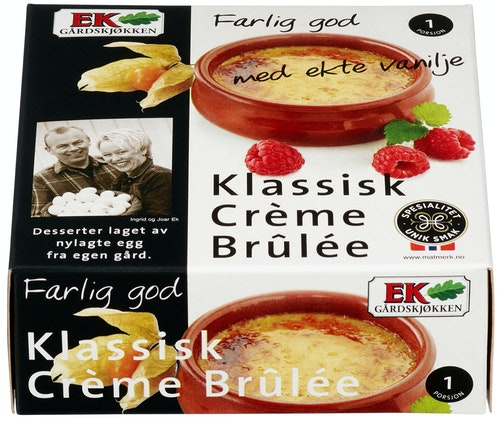 Ek Gårdskjøkken Crème Brûlée 110 g