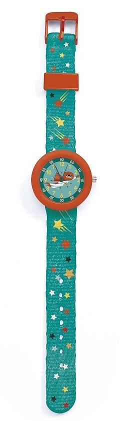Djeco Armbåndsur med Superheltmotiv 1 stk