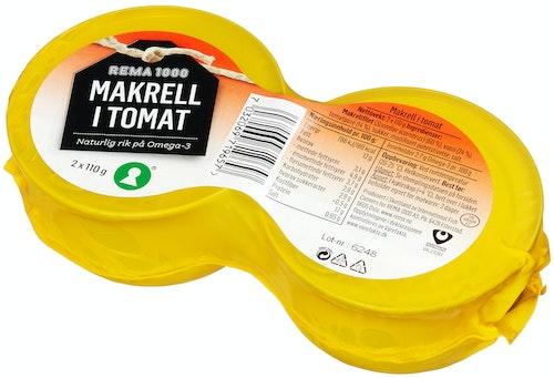REMA 1000 Makrell I Tomat 2x110g, 220 g