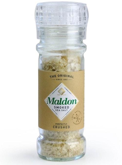 Maldon Havsaltflak Smoked Med Kvern, 55 g