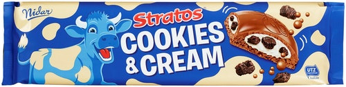 Nidar Stratos Cookies & Cream Storplate 185 g