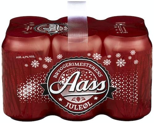 Aass Bryggeri Aass Bryggerimesterens Juleøl 6 x 0,33l, 1,98 l