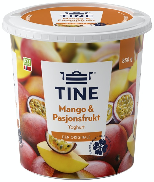 Tine TINE Yoghurt Mango og Pasjon 850 g