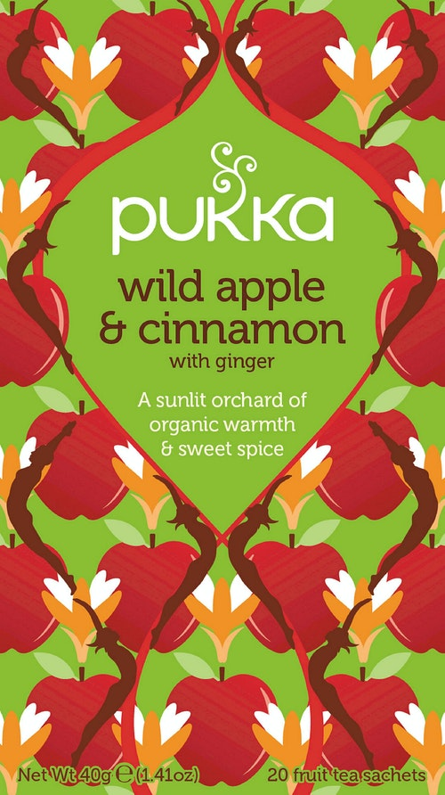 Pukka Wild Apple & Cinnamon 20 stk