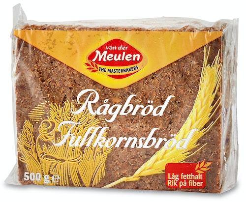 Van Der Meulen Rugbrød 500 g