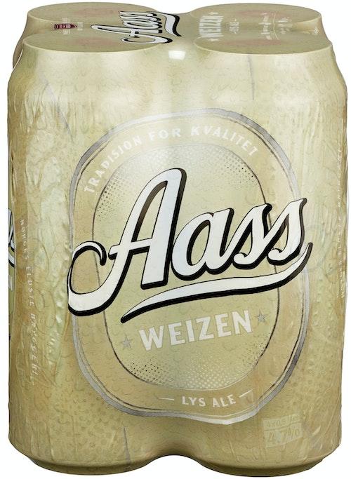 Aass Bryggeri Aass Weizen 4x0,5l, 2 l