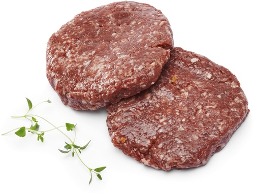 Strøm-Larsen Ferske Hamburgere 2 stk