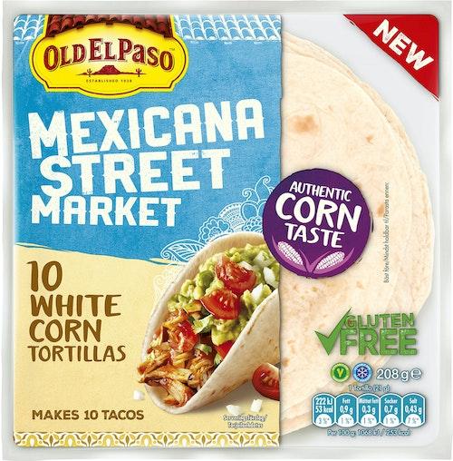 Old El Paso Mini 100% Corn Tortilla 10 stk ca 20 cm