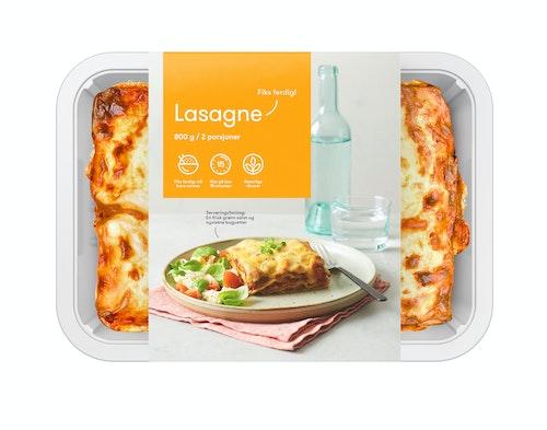 Oda Lasagne Fiks ferdig, 2 Porsjoner, 800 g