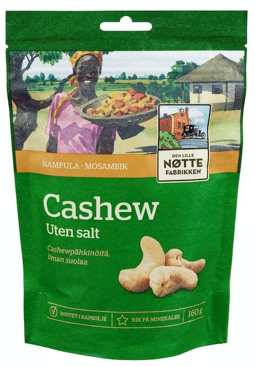 Den Lille Nøttefabrikken Cashew Mosambik 160 g