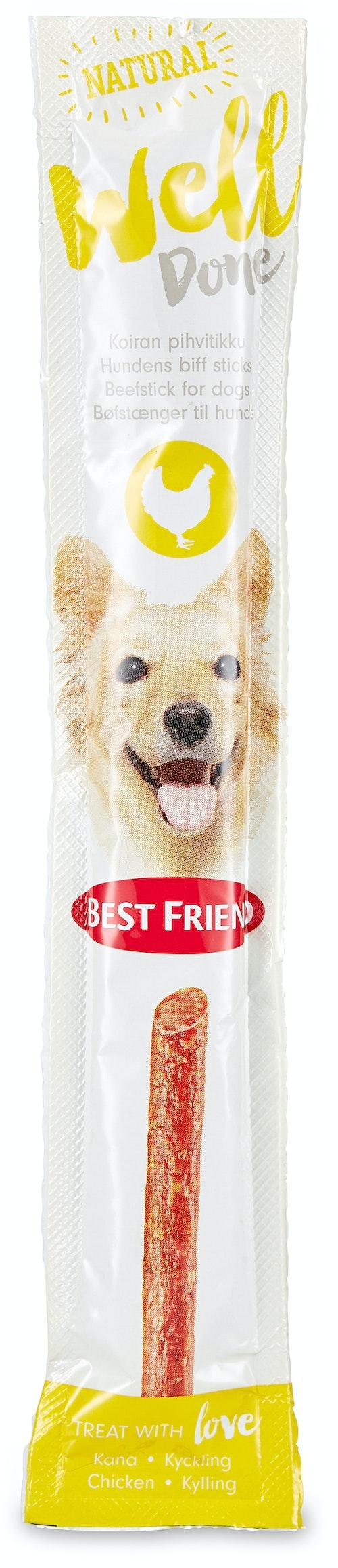 Best Friend Welldone Kylling Snack til Hund 15 g